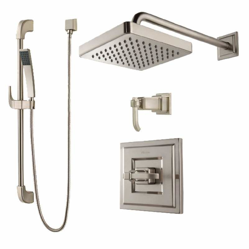 Faucet Com B89 7wek In Brushed Nickel By Pfister