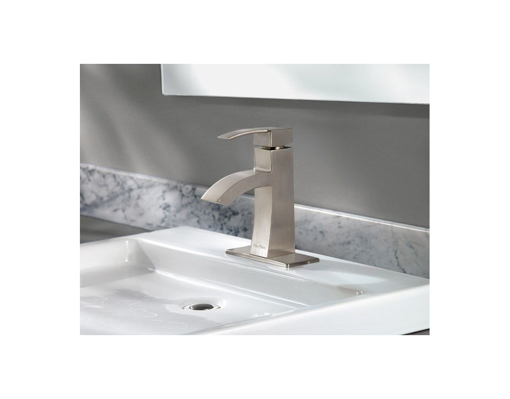Faucet Com Lf 042 Bnkk In Brushed Nickel By Pfister