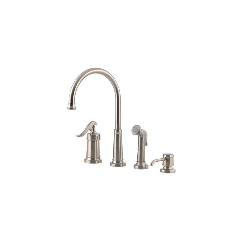 Pfister LG26 4YPK Brushed Nickel Ashfield Kitchen Faucet