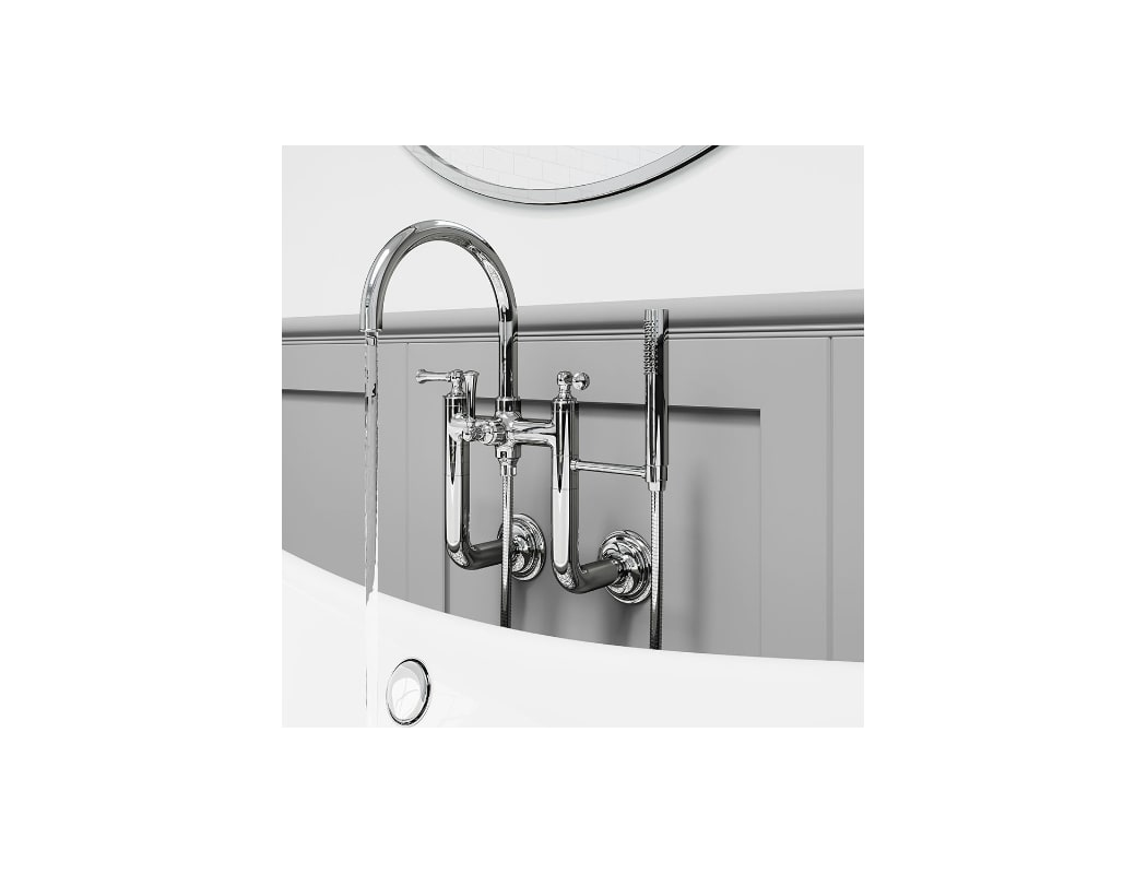 Faucet Com Lg6 3tbk In Brushed Nickel By Pfister