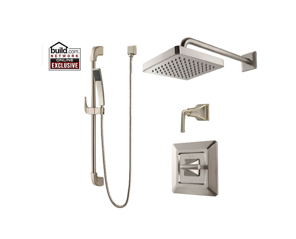 Pfister B89 7fek Brushed Nickel Park Avenue Shower System