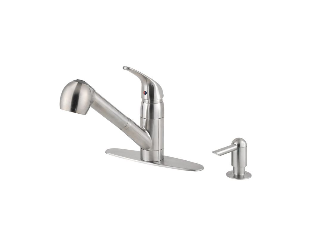 Pfister Kitchen Faucet Faucetcom F Wkp 533s In Stainless Steel By Pfister