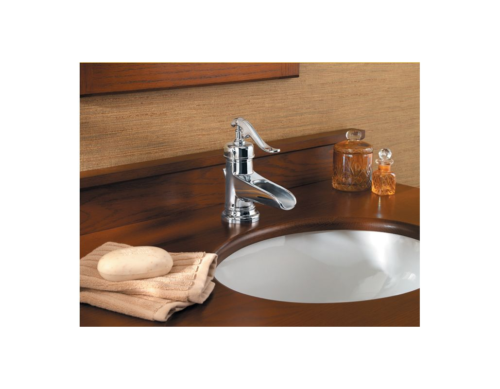 Country Bathroom Faucets Faucetcom T42 Yp0k In Brushed Nickel By Pfister