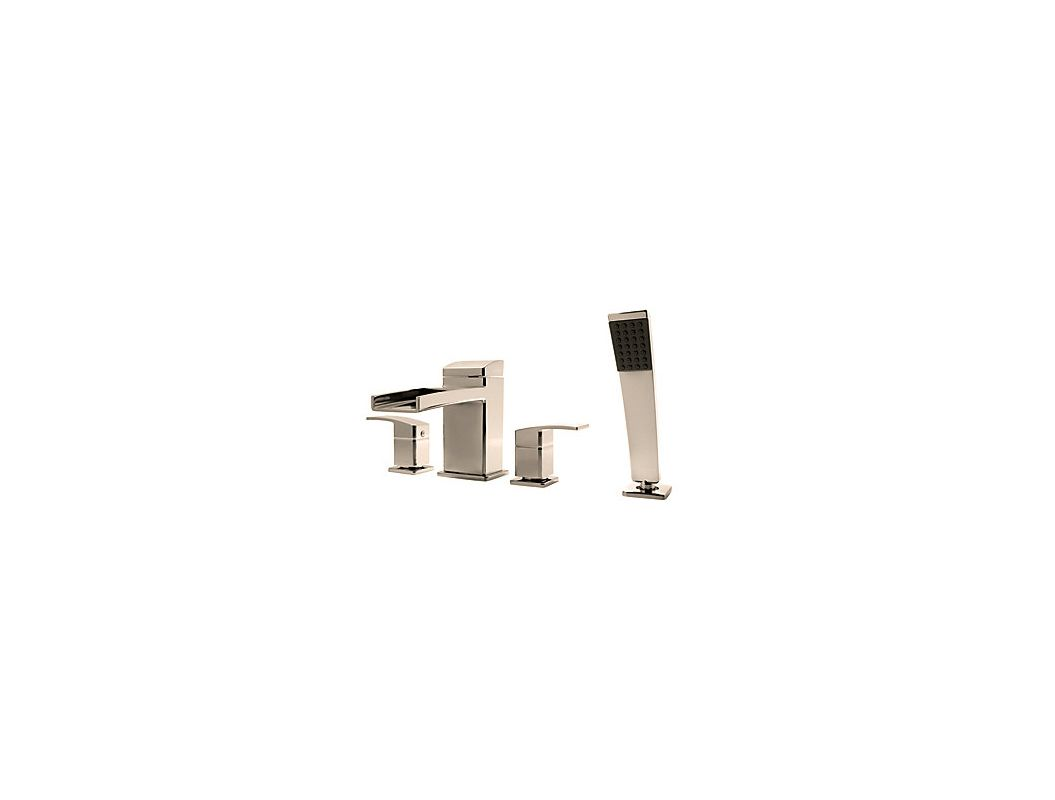 Faucet Com Rt6 4dfk In Brushed Nickel By Pfister