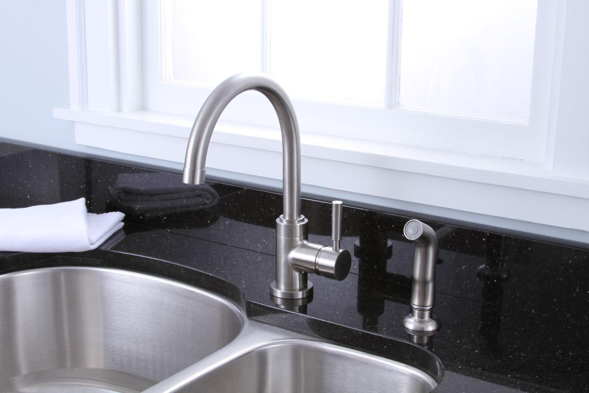 Premier Kitchen Faucets | Faucet Com 120097 In Chrome By Premier