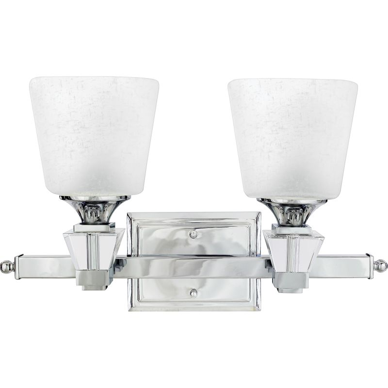 light 18 wide reversible bathroom vanity light with white linen glass