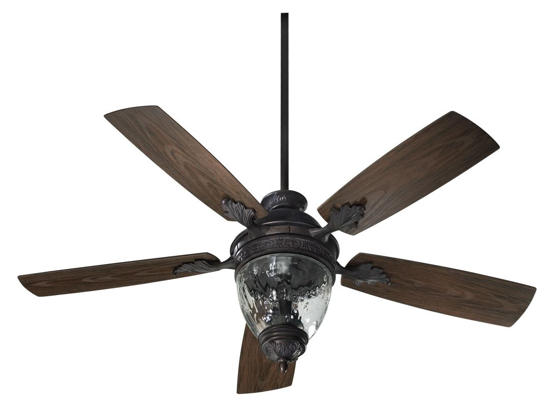 quorum international 174525 944 toasted sienna 5 blade 52 3 light outdoor ceiling fan wall. Black Bedroom Furniture Sets. Home Design Ideas