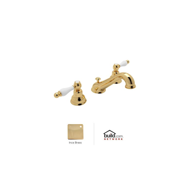 Faucet Com Ac102op Ib 2 In Inca Brass By Rohl