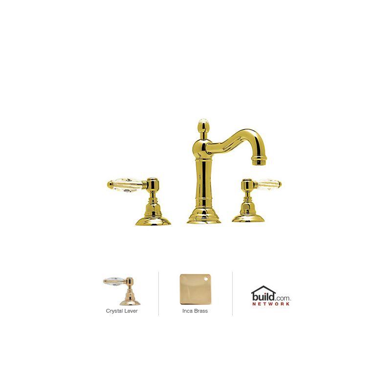 Rohl A1409lcib 2 Inca Brass Country Bath Widespread With
