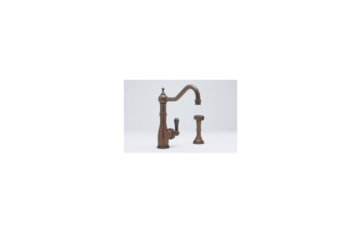 Perrin And Rowe Kitchen Faucet Faucetcom U4746apc 2 In Polished Chrome By Rohl