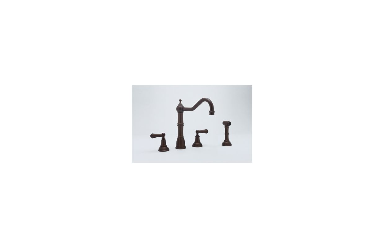 Perrin And Rowe Kitchen Faucet Faucetcom U4776l Pn 2 In Polished Nickel By Rohl