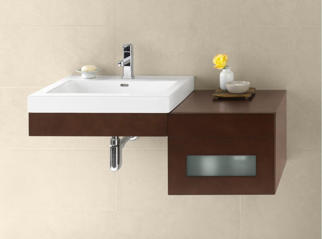 faucetcom  hkit in dark cherry  white ceramic top  -  ronbowhkitalternate image
