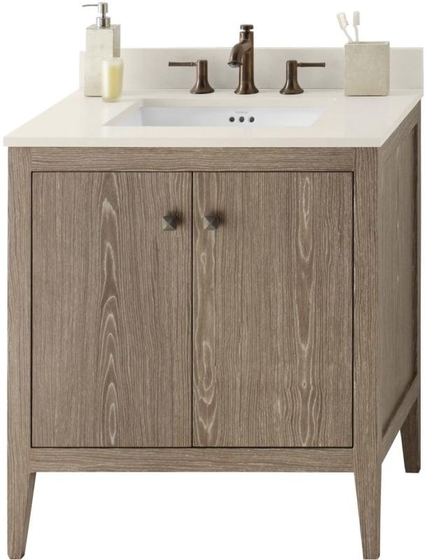 faucet 058330 e34 kit 1 in aged oak white quartz