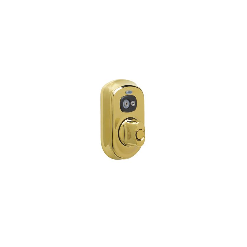 Schlage Be367fply505 Lifetime Polished Brass Plymouth
