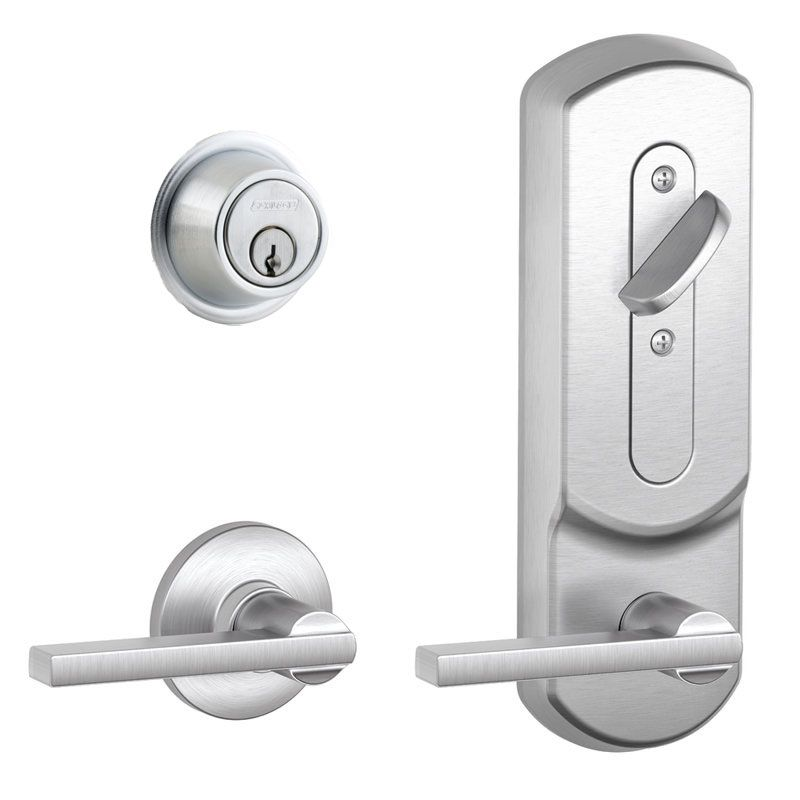 Schlage Cs210pdlat626ply Satin Chrome Cs200 Series