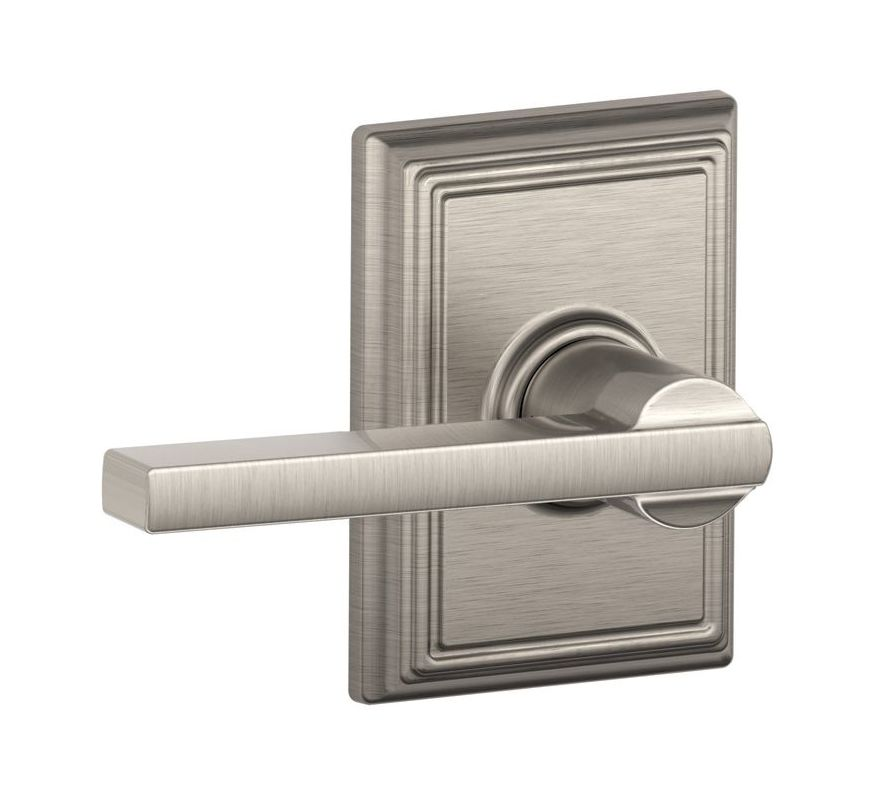 Schlage F10lat619add Satin Nickel Latitude Reversible