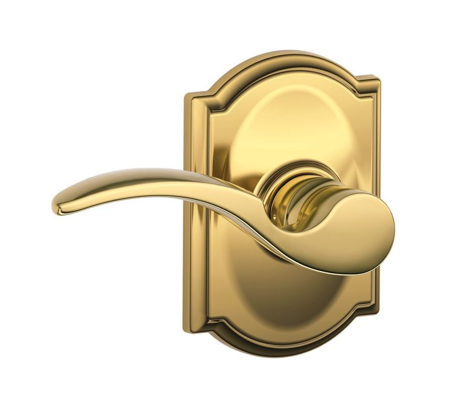 Schlage F10sta505cam Lifetime Polished Brass St Annes