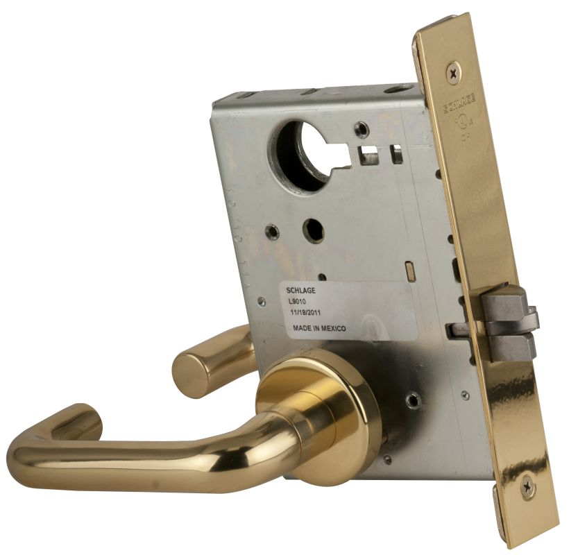 Schlage L9010605 Polished Brass L Series Commercial Grade