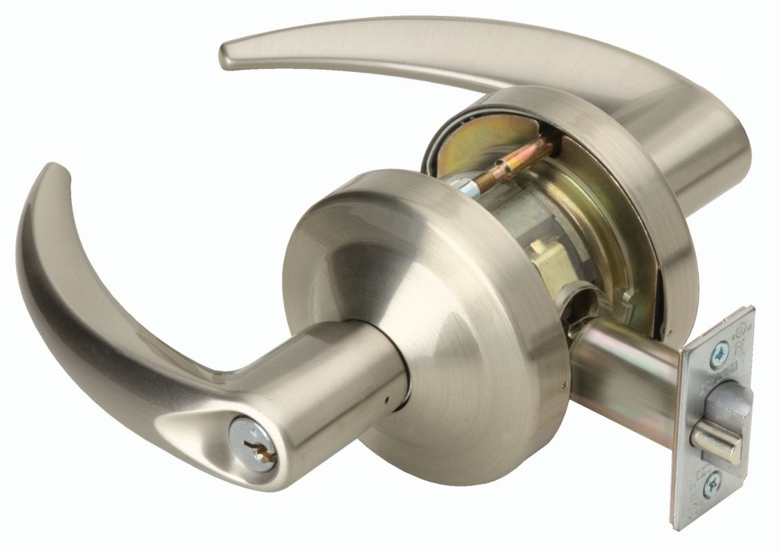 Schlage Nd73rdome619 Satin Nickel Omega Commercial Ansi