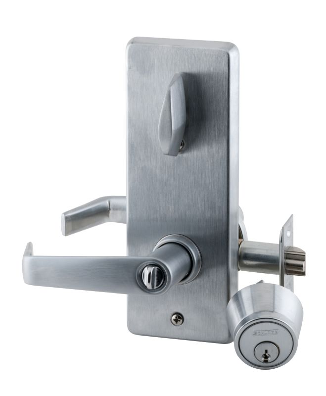 Schlage S251sat626 Satin Chrome S200 Series Commercial