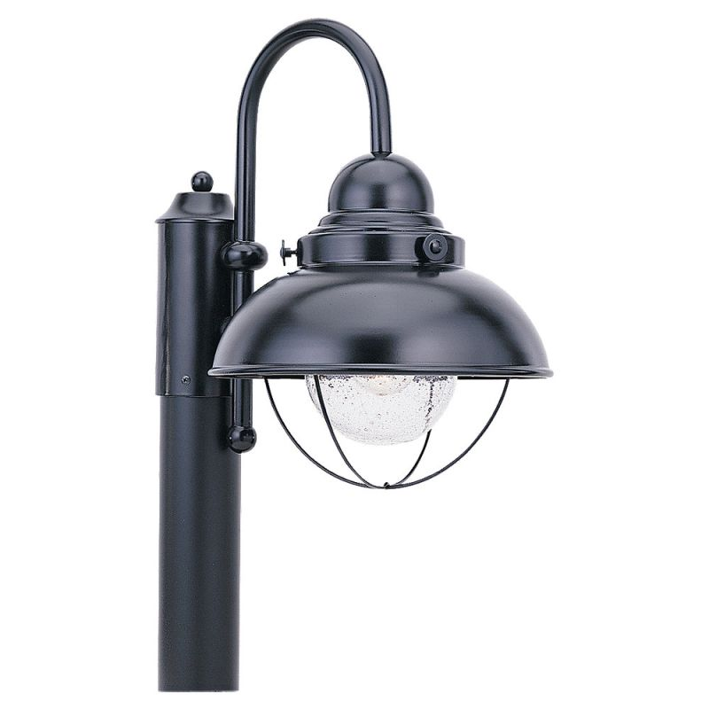 Sea Gull Lighting 8269 12 Black Sebring 1 Light Outdoor