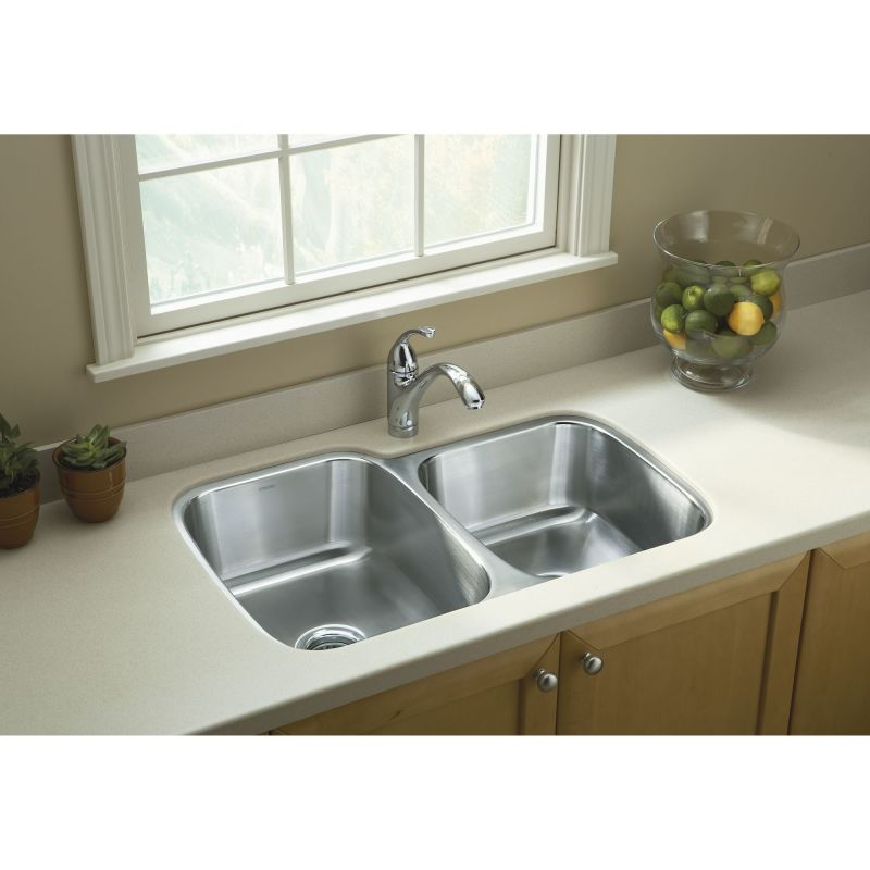 sterling kitchen sink faucet 11409 na in stainless steel by sterling 2512