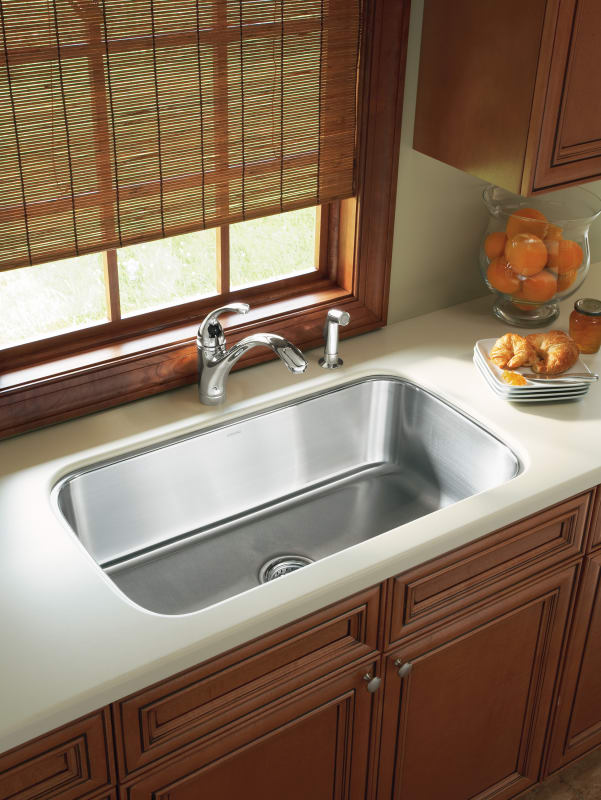 Faucet Com 11600 Na In Stainless Steel By Sterling