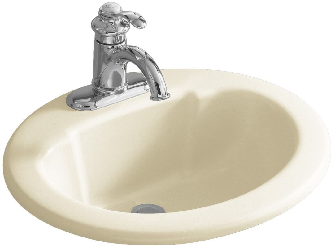 Almond Kitchen Sink Faucets