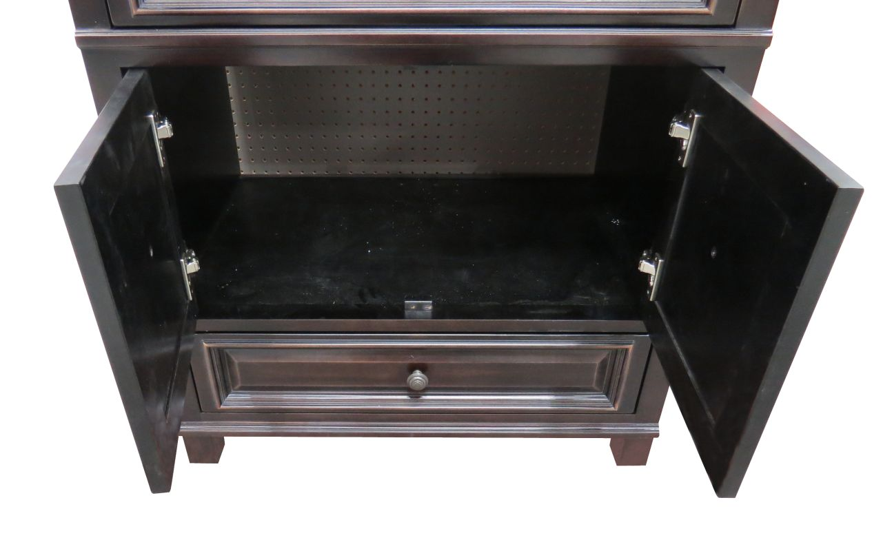 Sunnywood Kitchen Cabinets Faucetcom Bh3021d In Antique Black By Sunny Wood