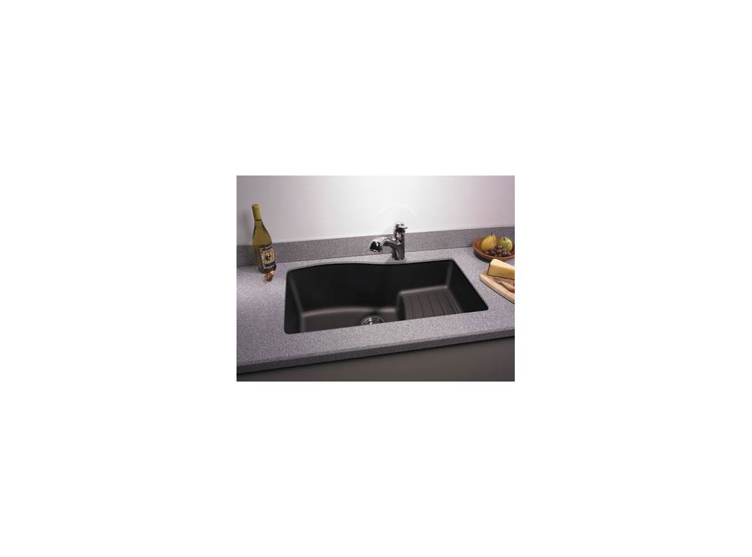 Faucet.com | QU03322AD.076 in Granito by Swanstone