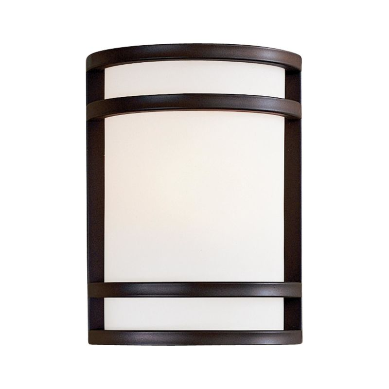 Exterior Wall Light Height : The Great Outdoors 9801-143 Oil Rubbed Bronze 1 Light 9.5