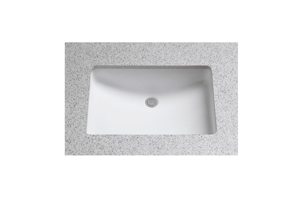 Toto Lt540g 01 Cotton 21 1 4 Quot Undermount Bathroom Sink With Overflow And Cefiontect