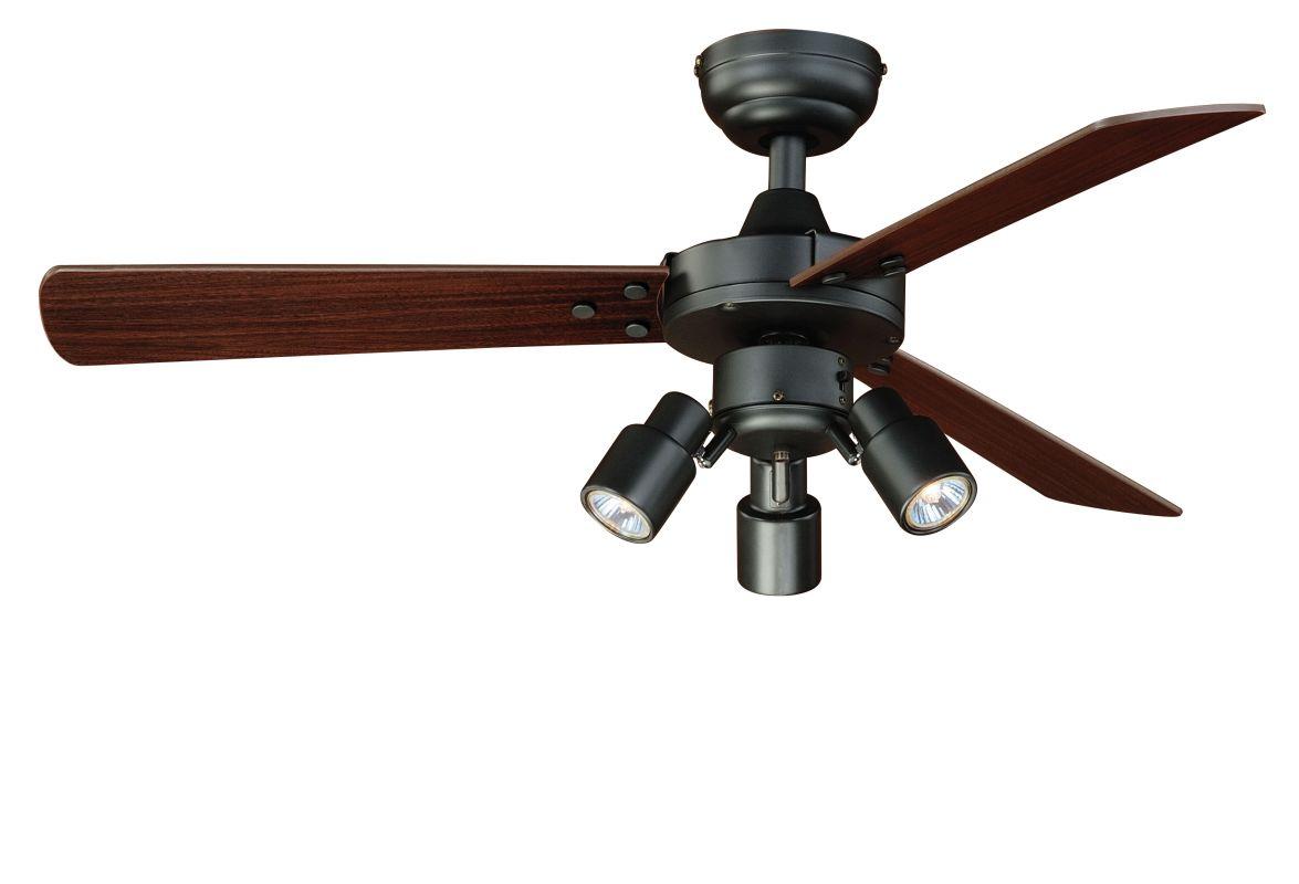 Vaxcel Lighting F0020 Dark Bronze Cyrus 42 Quot 3 Blade Indoor