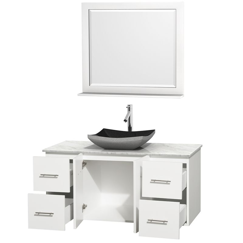 Wcvw00948swhcmgs3m36 In Avalon White Carrera Marble Sink By Wyndham Collection