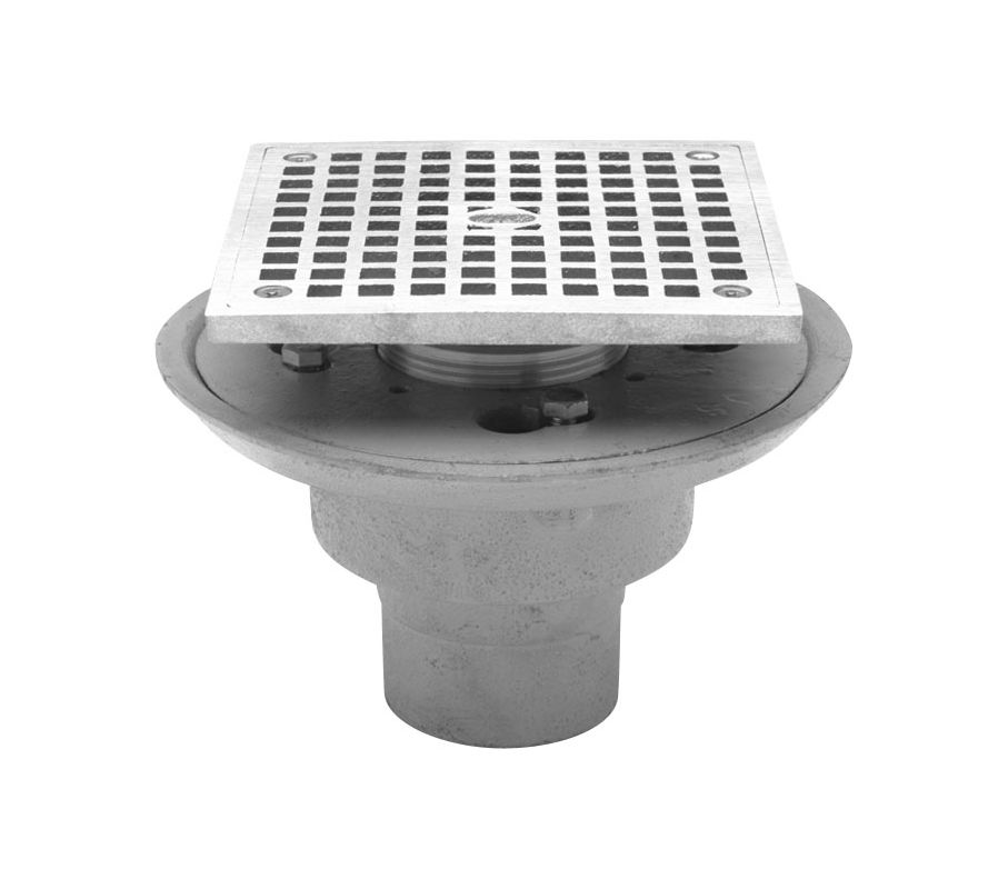 Zurn Fd2254 Nh2 S5 Cast Iron Cast Iron Shower Drain