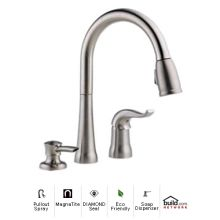 Delta Pull Out Kitchen Faucets delta pullout spray kitchen faucets at faucet