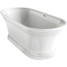 Freestanding Tub With Faucet Holes. Jacuzzi LYF6731BCXXXX Shop all Freestanding Tubs  Faucet com