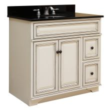country and rustic style bathroom vanities at faucetdirect
