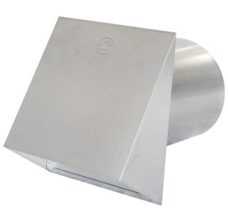 Air King Pwc10r Na 10 Inch Round Galvanized Steel Wall Cap