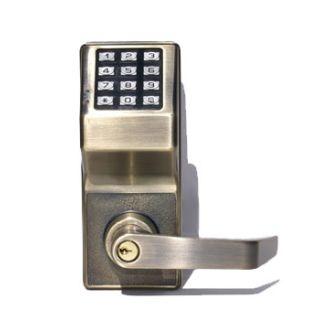 Alarm Lock Dl27005 Antique Brass Trilogy T2 Electronic