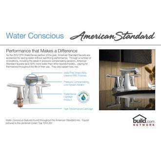 American Standard 7430 801 002 Polished Chrome Berwick