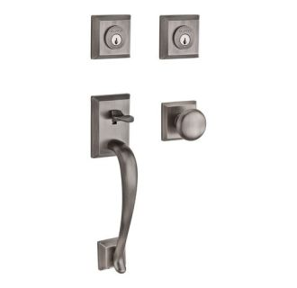 Baldwin Dcnap152 Matte Antique Nickel Napa Keyed Entry