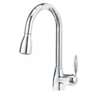 Blanco 441496 chrome grace pullout spray eco friendly high for Eco friendly faucets