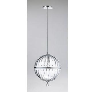 cyan design 04207 chrome 1 light large globe pendant from. Black Bedroom Furniture Sets. Home Design Ideas
