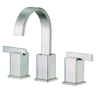Danze D304144bn Brushed Nickel Widespread Bathroom Faucet From The Sirius Collection Valve