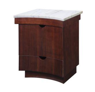 Decolav 5670 Cgn Cognac 24 Quot Solid Wood Vanity With Granite