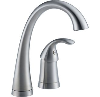 Faucet Com 4380 Ar Dst In Arctic Stainless By Delta