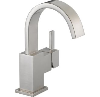 Faucet Com Dss Vero 1701ss In Brilliance Stainless By Delta