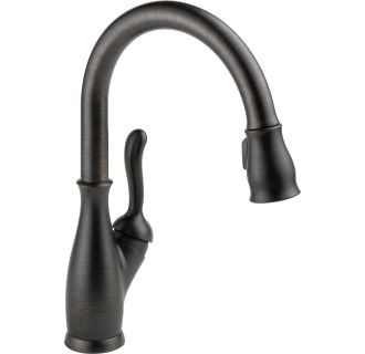 Delta 9178 Rb Dst Venetian Bronze Leland Pull Down Spray Kitchen Faucet With Diamond Seal