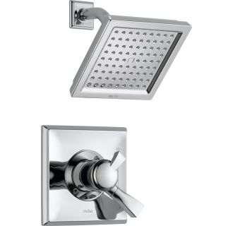 Delta T17251 Chrome Dryden Shower Trim Package With Single